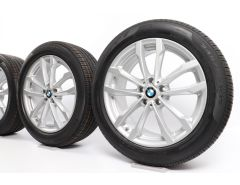 BMW Summer Wheels X3 G01 X4 G02 19 Inch Styling 691 V-Spoke
