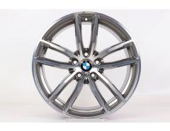 BMW Alufelge 5er G30 G31 6er G32 7er G11 G12 18 Zoll Styling 662 M Doppelspeiche