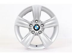1x BMW Alufelge 3er F30 F31 4er F32 F33 F36 16 Zoll Styling 391 Sternspeiche