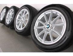 BMW Sommerkompletträder X1 F48 17 Zoll Styling 560 V-Speiche