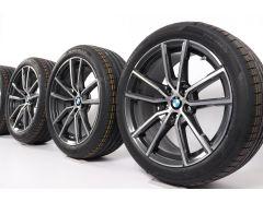 BMW Sommerkompletträder 3er G20 G21 4er G22 G23 18 Zoll Styling 780 V-Speiche