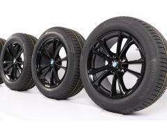BMW Velgen met Winterbanden 5 Serie G30 G31 17 Inch Styling 631 V-Speiche