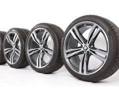 BMW Winterkompletträder 6er G32 7er G11 G12 20 Zoll Styling 648 M Doppelspeiche