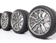BMW Sommerkompletträder X1 E84 19 Zoll Styling 465 Doppelspeiche