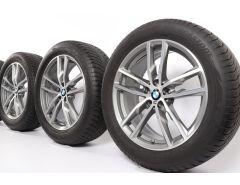 BMW Winterkompletträder X3 G01 X4 G02 19 Zoll Styling 698 M Doppelspeiche