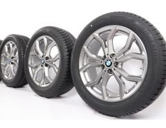 BMW Winterkompletträder X3 G01 X4 G02 19 Zoll Styling 694 Y-Speiche