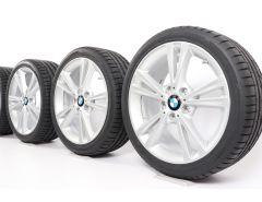 BMW Velgen met Zomerbanden 1 Serie F20 F21 2 Serie F22 F23 18 Inch Styling 385 Dubbelspaak