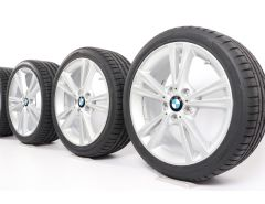 BMW Sommerkompletträder 1er F20 F21 2er F22 F23 18 Zoll Styling 385 Doppelspeiche