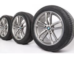 BMW Winter Wheels 5 Series G30 G31 18 Inch Styling 662 M Doppelspeiche