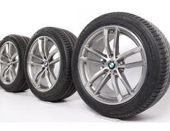 BMW Winterkompletträder 5er G30 G31 18 Zoll Styling 662 M Doppelspeiche
