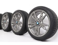 BMW Winter Wheels 1 Series F20 F21 2 Series F22 F23 18 Inch Styling 436 M Doppelspeiche