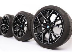 BMW Sommerkompletträder M8 F91 F92 20 Zoll Styling 811 M Sternspeiche
