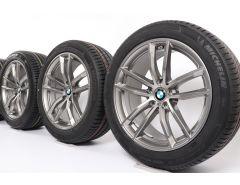 BMW Summer Wheels 5 Series G30 G31 18 Inch Styling 662 M Doppelspeiche