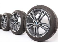 BMW Sommerkompletträder X1 F48 19 Zoll Styling 572 M Doppelspeiche