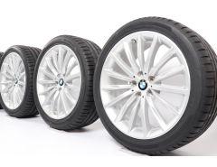 BMW Velgen met Zomerbanden 5 Serie G30 G31 19 Inch Styling 633 Vielspeiche