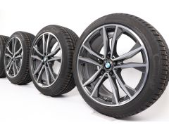 BMW Winter Wheels X1 F48 X2 F39 19 Inch Styling 715 M Doppelspeiche
