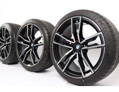 BMW Sommerkompletträder Z4 G29 19 Zoll Styling 799 M Doppelspeiche