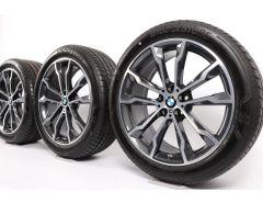BMW Summer Wheels X3 G01 X4 G02 20 Inch Styling 699 M Double-Spoke