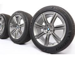 BMW Velgen met Winterbanden X5 G05 X6 G06 20 Inch Styling 736 Sternspeiche