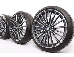 BMW Sommerkompletträder 8er G14 G15 G16 20 Zoll Styling 729 M Vielspeiche