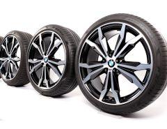 BMW Summer Wheels X1 F48 X2 F39 20 Inch Styling 716 M Y-Speiche