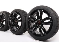 MINI Velgen met Winterbanden F55 F56 F57 17 Inch Styling JCW Track Spoke 501