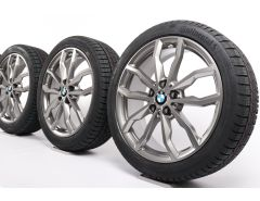 BMW Winter Wheels 1 Series F40 2 Series F44 18 Inch Styling 711 M Y-Spoke