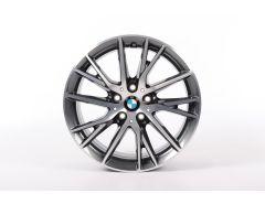 BMW Alufelge 1er F40 2er F44 F45 F46 17 Zoll Styling 489 Y-Speiche