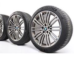 BMW Velgen met Zomerbanden 5 Serie G30 G31 19 Inch Styling 664 M Dubbelspaak