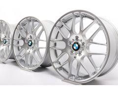 4x BMW Velgen M3 E46 19 Inch Styling 163 CSL M Kreuzspeiche