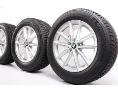 BMW Velgen met Zomerbanden X5 G05 X6 G06 18 Inch Styling 618 V-Speiche