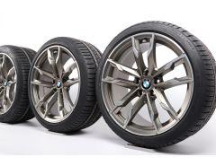 BMW Winterkompletträder Z4 G29 19 Zoll Styling 800 M Doppelspeiche