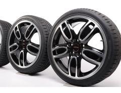 MINI Summer Wheels F55 F56 F57 18 Inch Styling JCW Cup Spoke 2-Tone 509
