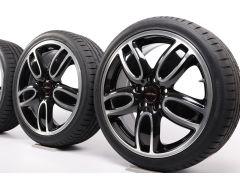 MINI Winter Wheels F55 F56 F57 18 Inch Styling JCW Cup Spoke 2-Tone 509