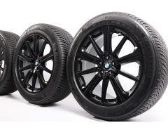 BMW Velgen met Winterbanden X5 G05 X6 G06 20 Inch Styling 748 M Sternspeiche
