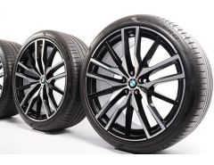 BMW Summer Wheels X5 G05 X6 G06 22 Inch Styling 742 M Doppelspeiche