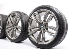BMW Velgen met Zomerbanden 7 Serie G11 G12 20 Inch Styling 760 M Doppelspeiche