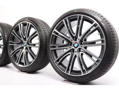BMW Sommerkompletträder 5er G30 G31 20 Zoll Styling 759 V-Speiche