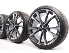 BMW Summer Wheels 8 Series G14 G15 G16 20 Inch Styling 733 Double-Spoke