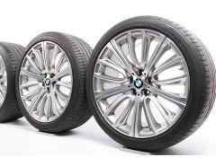 BMW Sommerkompletträder 6er G32 7er G11 G12 20 Zoll Styling 628 V-Speiche
