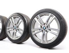 BMW Sommerkompletträder 2er F45 F46 18 Zoll Styling 486 M Doppelspeiche