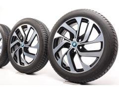 BMW Winterkompletträder i3 I01 19 Zoll Styling 428 Turbinenstyling