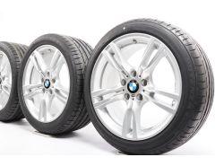 BMW Sommerkompletträder 3er F30 F31 4er F32 F33 F36 18 Zoll Styling 400 M Sternspeiche
