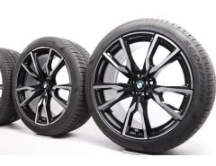 BMW Winter Wheels X7 G07 22 Inch Styling 755 V-Speiche