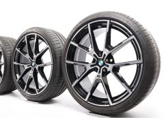 BMW Sommerkompletträder 8er G14 G15 G16 20 Zoll Styling 728 Y-Speiche