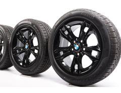 BMW Winterkompletträder X1 E84 17 Zoll Styling 319 Sternspeiche