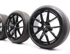 BMW Velgen met Zomerbanden 8 Serie G14 G15 G16 20 Inch Styling 728 M Y-Speiche