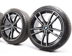 BMW Summer Wheels 3 Series G20 G21 19 Inch Styling 791 M Doppelspeiche