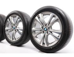 BMW Sommerkompletträder X1 F48 X2 F39 18 Zoll Styling 568 Doppelspeiche