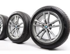 BMW Velgen met All-Season banden X3 G01 X4 G02 19 Inch Styling 698 M Dubbelspaak